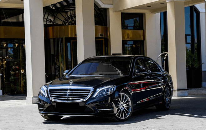 Marbella Luxury Sedans - Mercedes Benz S Class New - Front View