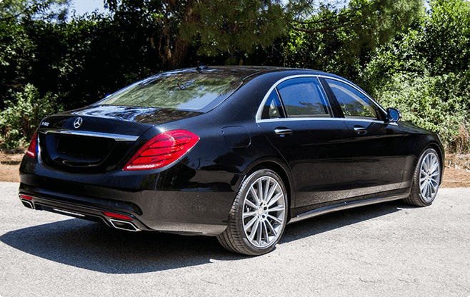 Marbella Luxury Sedans - Mercedes Benz S Class New - Back View